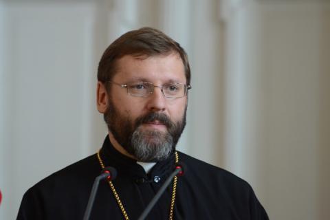 """Блаженніший Святослав: """"Якщо хтось віддає власне життя заради свого народу, тоді смерть є не так трагедією, як жертвою"""""""
