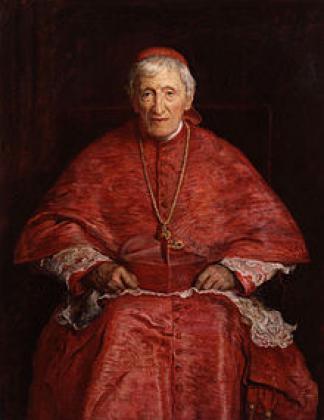 Портрет кардинала Джона Генрі Ньюмена, 1881 р.  Автор: Джон Еверетт Мілле