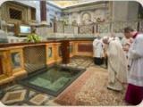 """""""Звіщати, свідчити та поклонятися"""", - Папа Франциск в базиліці святого Павла за мурами"""